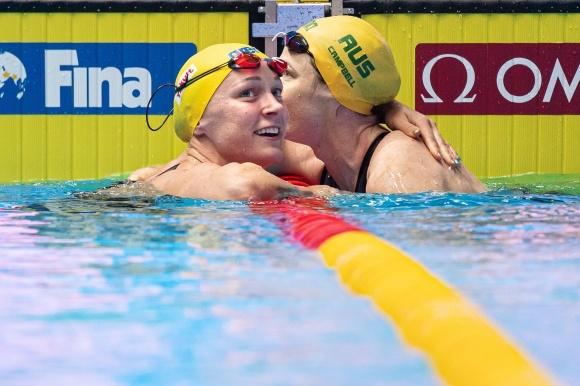 Sarah SJöström och Cate Campbell