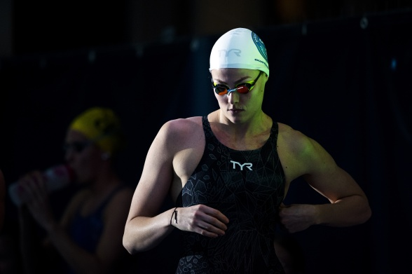 Michelle Coleman simmade till sig tävlingarnas högsta poäng