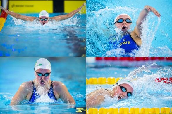 Edith Jernstedt vann 400m medley idag (klicka på bilden)