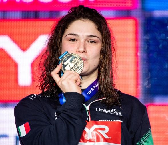 Tre gånger slog hon  juniorvärldsrekord idag - Italiens Benedetta Pilato