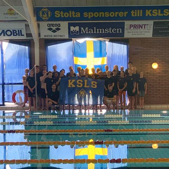 Kristianstad simmar inomhus i sin 25:a