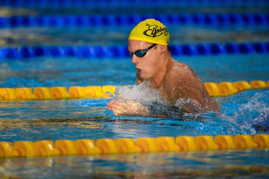 Adam Paulsson tvåa på 400m medley