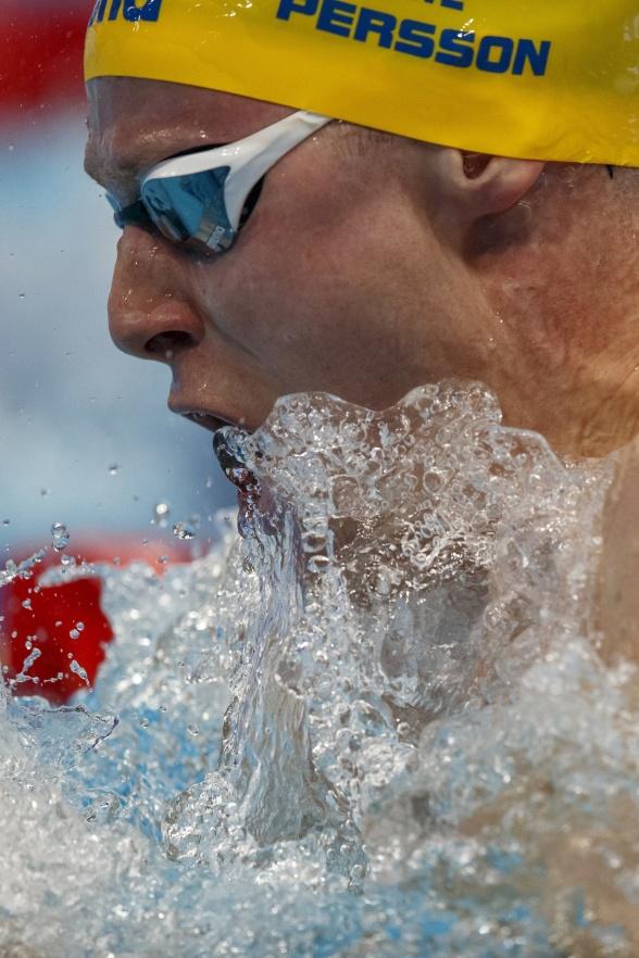 Erik Persson noterade 1.00.50 i semifinalen
