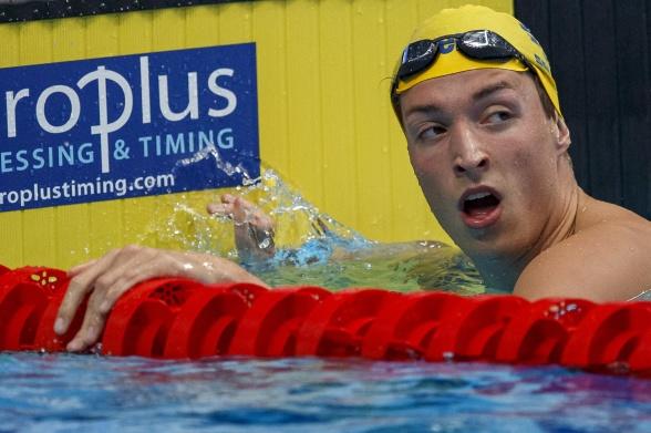 Björn Seeliger till semifinal på 100m fritt