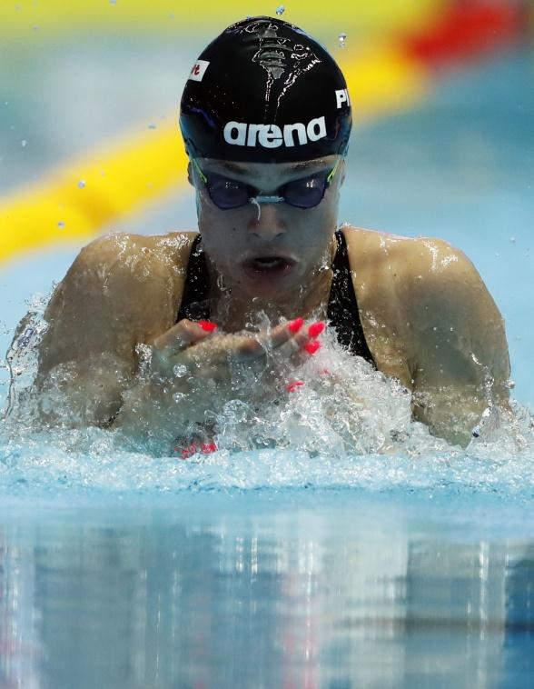 Pilato slog världsrekord på 50m bröstsim'