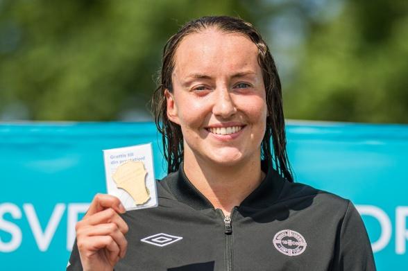Christine Ekman vann 400m medley