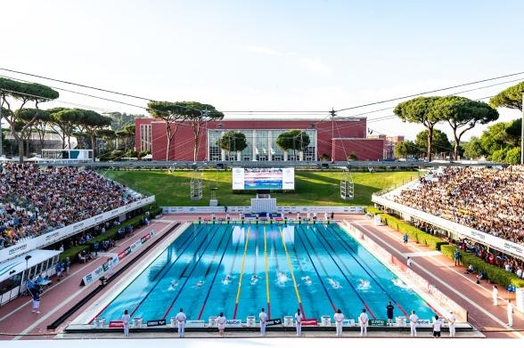 Foro Italico - OS-arenan från 1960 där EJM simmas 2021
