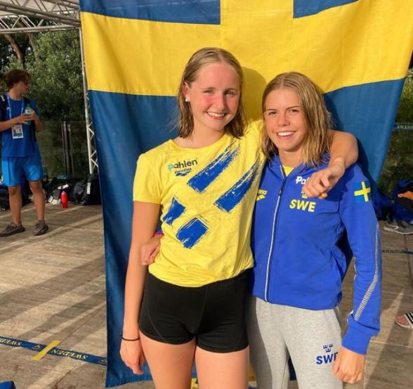 Olivia Klint Ipsa och LIsa Nystrand