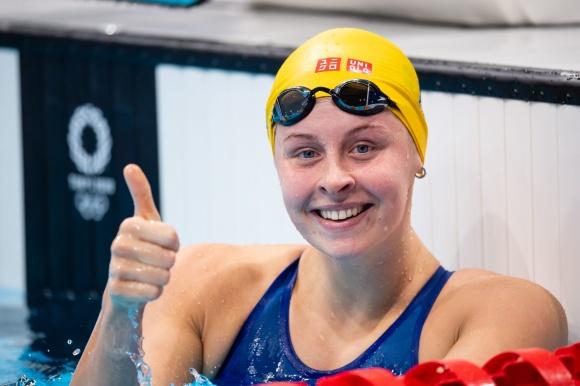 Fint personligt rekord av Sophie Hansson