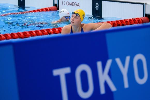 Sophie Hansson utslagen på 200m bröstsim