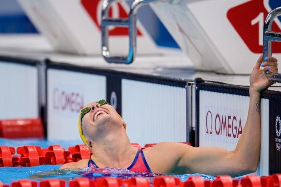 Utslagen på 100m fritt, Michelle Coleman