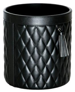Round basket - Round basket - Black