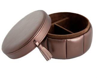 Jewelry box round - Jewelry box round - Bronze