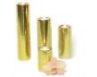Set/4 ljuscylindrar - Candle stick - Brass - Hammered