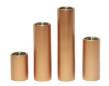 Set/4 ljuscylindrar - Candle stick - Copper - Brushed
