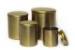 Set/4 Mässingförvaring - Cans - Brass - Brushed