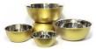 Set/5 skålar i ädelmetall - Bowls - Brass - Brushed