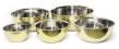 Set/5 skålar i ädelmetall - Bowls - Brass - Hammered