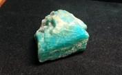 Amazonit från Kolahalvön, Ryssland.