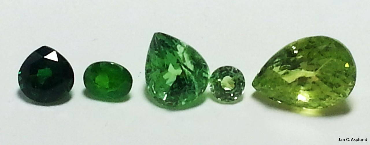 grön sten namn