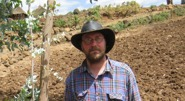 Jan Asplund in Megendi, Ethiopia, 2009. A lesser known area for opalproduction than the famous Welo region.