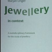 Jewellery in context, A multidiciplinary framework for the study of jewellery