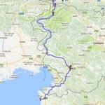 0000 Lovrecica till Faaker See 250 km