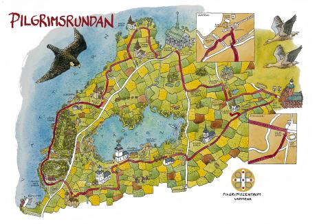 Klicka på Johan Hesselstrands  kartaillustration, så får du se hur fin den är i stort format!
