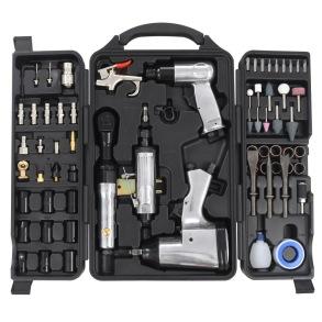 Tryckluftsverktyg kit 70 delar