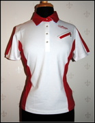 Shirt White/Red
