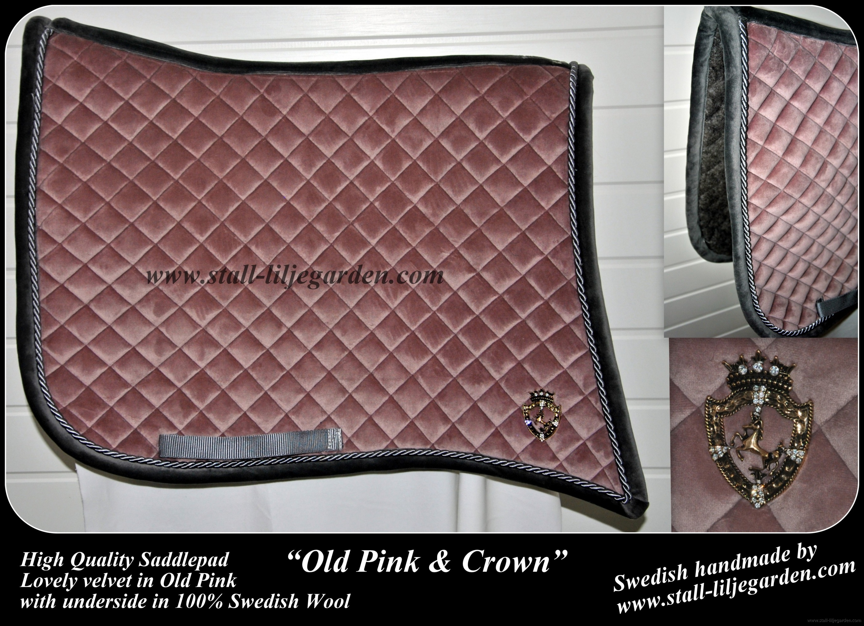 Old Pink & Crown