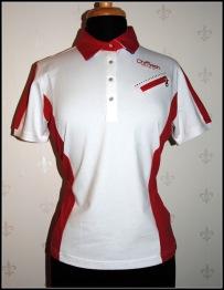 Shirt White/Red