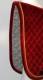 AR nr 5 Sammet/Ull Röd/Guld