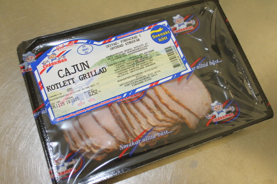 Art nr:5431 Cajunkotlett grillad hel, 543 Cajunkotlett grillad skivad