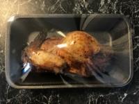 Kyckling halv grillad