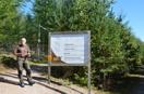 Besök på älghägnet vid Isaberg 7 sept. 2013