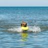 Sally gillar att bada