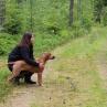 Enzi 5mån skogssök