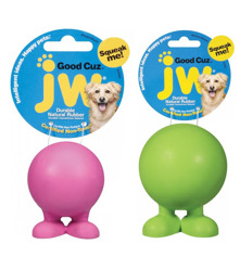 Jw-gummiboll med pip på fötter
