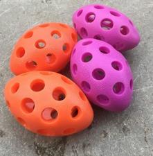 NYHET !! Ruggby- Giftfritt gummi - hållbart gummi i Ceriserosa eller orange.