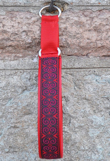 Keltisk Kringla Röd