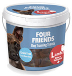 Perfekt belöningsgodis för alla hundar. Mjuka smakfulla bitar som hundarna älskar! Lammkött 59 % och lammlever