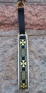 Keltiskt kors svart-guld