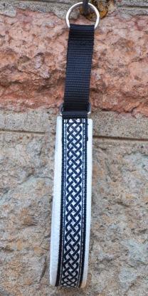 Bred Keltisk silver/svart