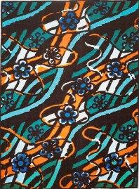 """En serigrafi i sex färger av Lennart Rohde. 1998 gavs verket ut med titeln """"Strömmen""""."""