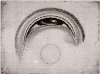 En mjukgrundsetsning av Hans Hamngren. Detta är artistens/konstnärens eget tryck i en upplaga på 125 exemplar, vilket är ett exempel på termen Cypher.