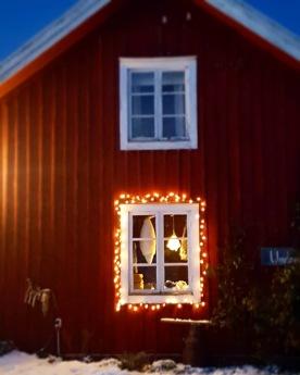 Julen närmar sig. I butiken finns gott om skinn.