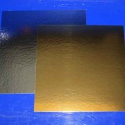 Silver/Guldbricka 30*30cm