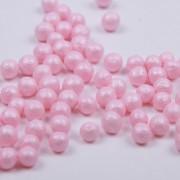 Mjuka pärlemopärlor - Rosa
