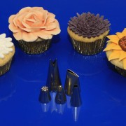 Tyllset för blomstercupcakes